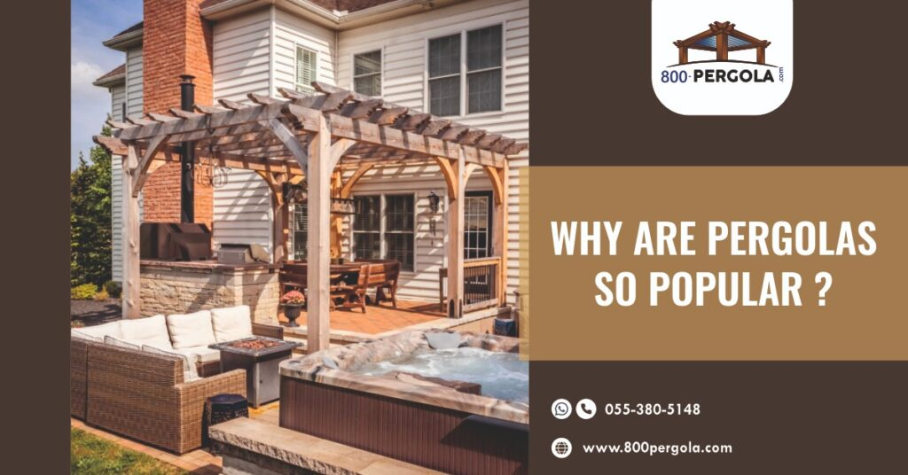 Why Are Pergolas So Popular? 800 Pergola, Best Pergola Designer in Dubai, Wooden Pergola