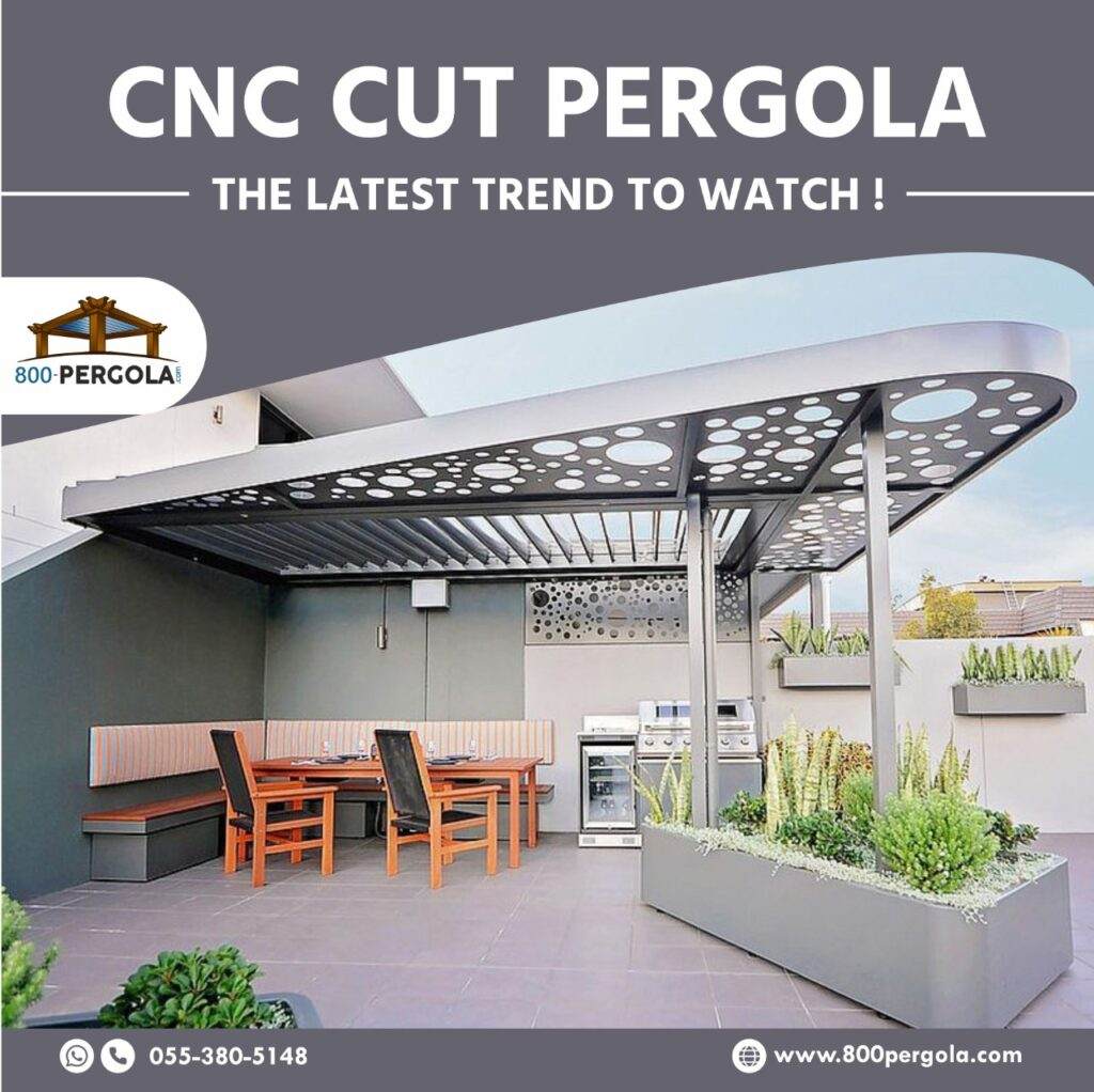 CNC Cut Pergola - The New Trending Pergola