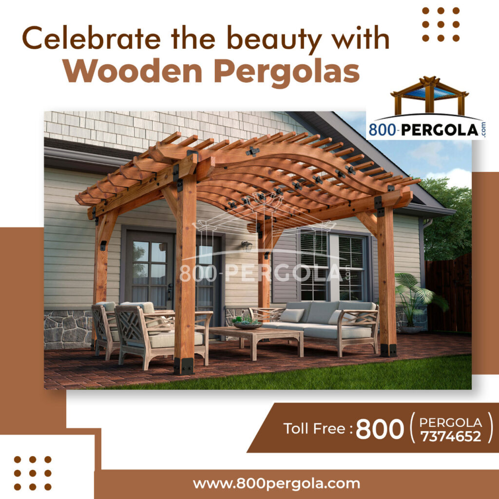 4 Reasons why a Wooden Pergola will boost your backyard beauty , Wooden Pergola, Wooden pergola designs, Wooden pergola designers in Dubai, Wooden pergola developers in Dubai, Wooden pergola Contractor in Dubai