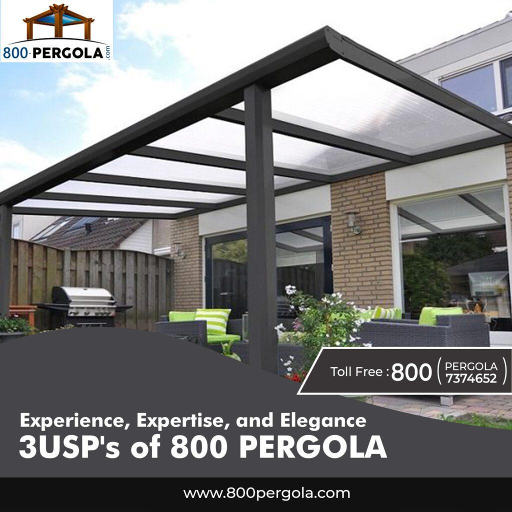 Experience, Expertise, and Elegance: 3USP's of 800 PERGOLA, 800 Pergola, Pergola Manufacturers in Dubai, Pergola Designers in Dubai