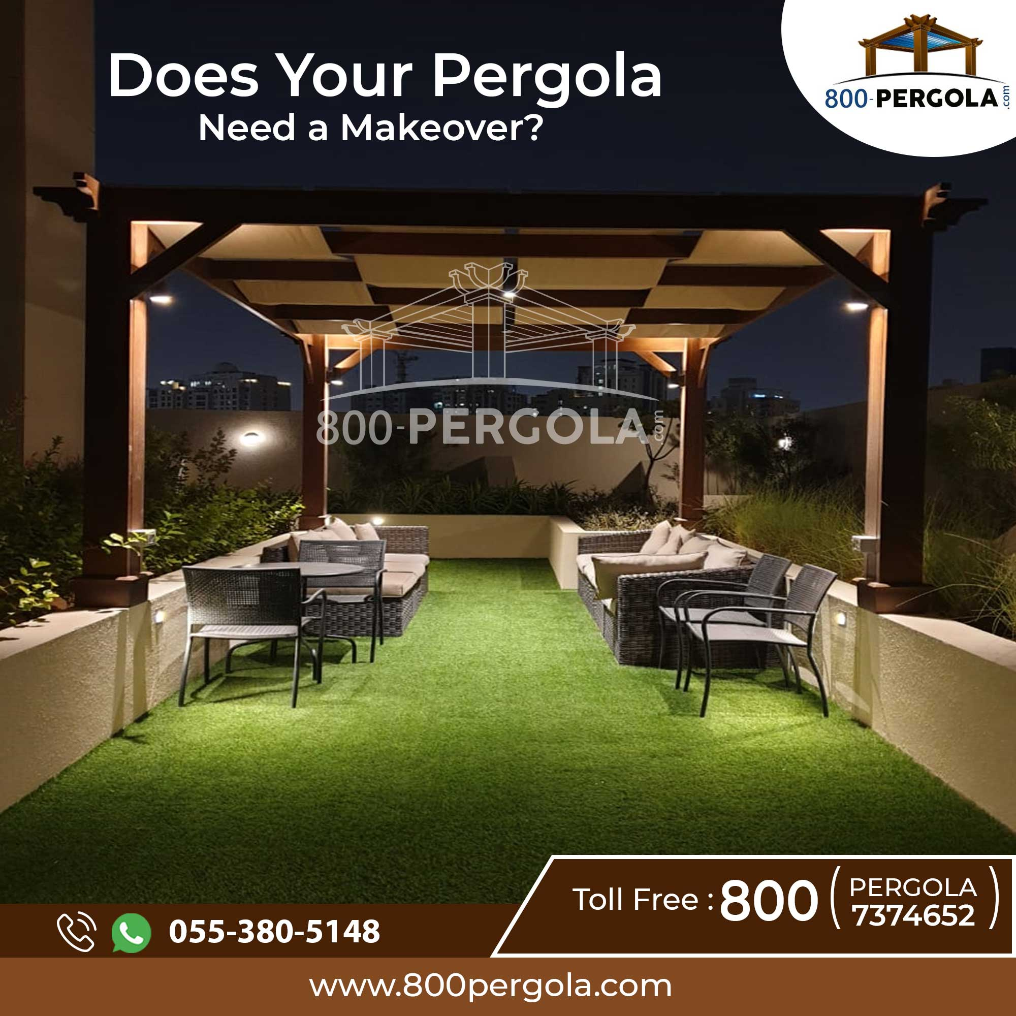 Does Your Pergola Need a Makeover?